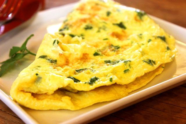 receita de omelete low carb