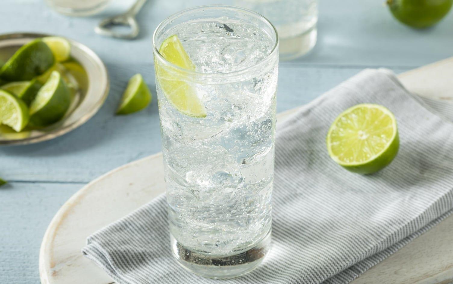 agua com gás na dieta